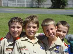 Boy Scouts Camp A 2007 004A