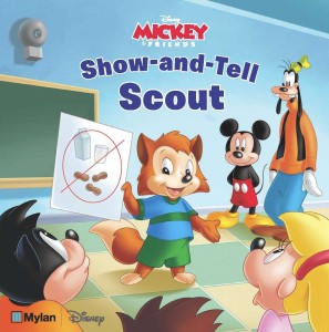 mylan and disney new show and tell scout book allergicchild