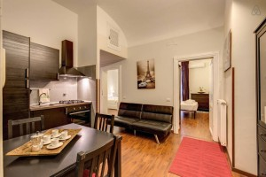 The AirBnB we're staying in Rome -- for only $90 / night!