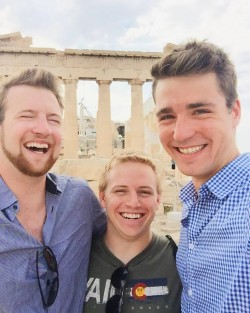 Threesome in Athens
