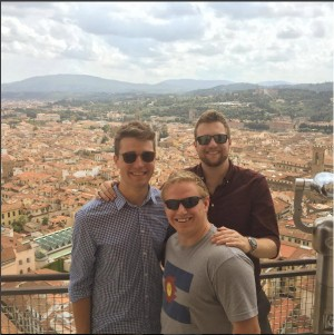 Threesome in Florence