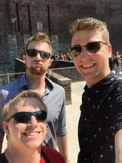 Trio in Italy